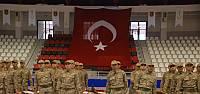 Tokat'ta olumsuz hava şartları nedeni ile yemin töreni spor salonunda yapıldı