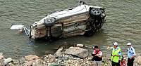 Tokat'ta Otomobil Kelkit Çayı'na Uçtu: 2 Ölü, 3 Yaralı