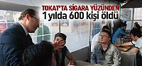 Tokat'ta Sigara Yüzünden 1 Yılda 600 Kişi Hayatını Kaybetti