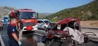 Tokat'ta trafik kazası: 1 ölü 7 yaralı
