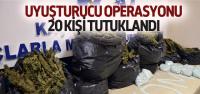 Tokat'ta Uyuşturucu Operasyonunda 20 Kişi Tutuklandı