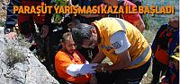 Tokat'ta Yamaç Paraşütü Kazası: 1 Yaralı