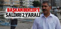 Turhal'da Bekler'e Saldırı: 2 Yaralı