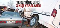 Turhal'da Trafik Kazası: 3 Yaralı