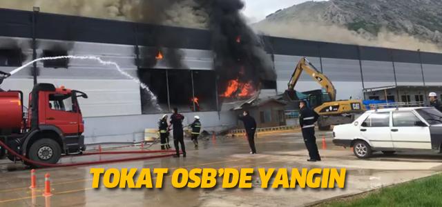 Tokat OSB'de yangın