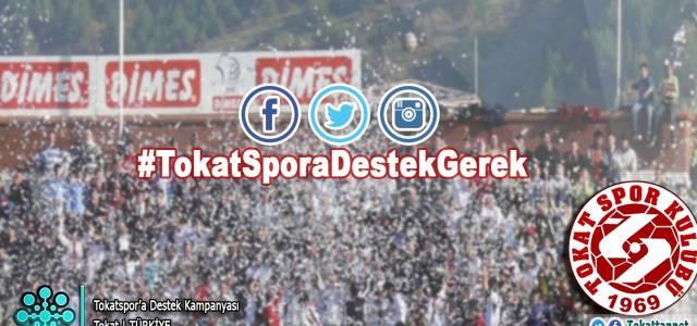 Tokatspor'a destek kampanyası başlatıldı