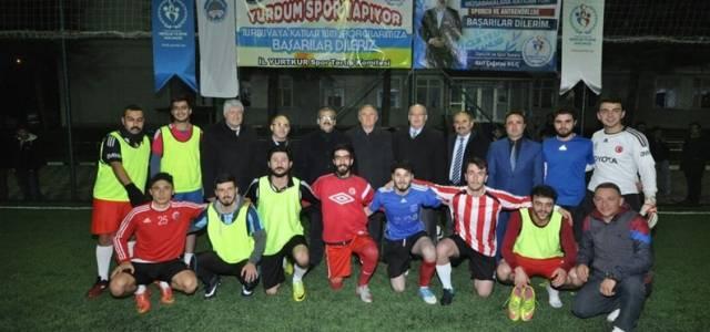 """Tokat'ta """"Yurdum Spor Yapıyor"""" futbol turnuvası"""
