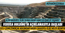 Erbaa'da siyanürlü altın madeniyle ilgili neler biliniyor