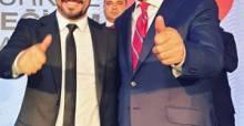 Başkan Yılmaz, Sarıgül'den Tokatlılara selam getirdi